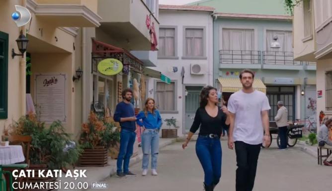 Çatı Katı Aşk 16. Bölüm